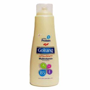 شامپو مولتی ویتامین گلرنگ مخصوص موهای معمولی متمایل به چرب400گرم