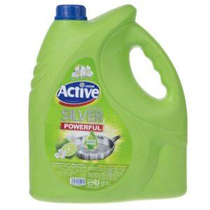 مایع ظرفشویی اکتیو مدل Lime&Flower 4لیتری