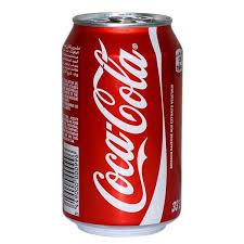 نوشابه فلزی کوکاکولا 330میلی