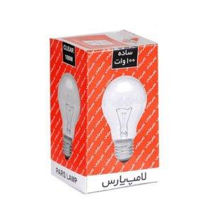 لامپ 100وات پارس