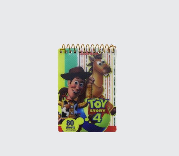 دفترچه یادداشت سیمی طلقی پسرانه متوسط