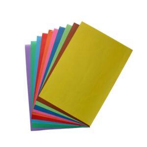 کاغذ رنگی بسته 10عددی