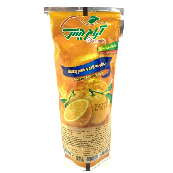 آبمیوه پاکتی پرتقالی
