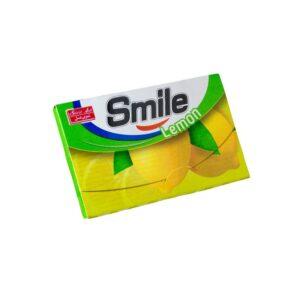 آدامس استیک اسمایل 7عددی شیرین عسل لیمویی